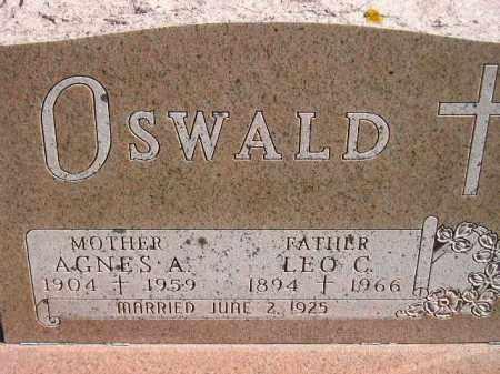 OSWALD, LEO C. - Hanson County, South Dakota | LEO C. OSWALD - South Dakota Gravestone Photos