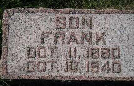 OSWALD, FRANK - Hanson County, South Dakota | FRANK OSWALD - South Dakota Gravestone Photos