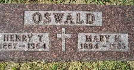 OSWALD, HENRY T. - Hanson County, South Dakota | HENRY T. OSWALD - South Dakota Gravestone Photos