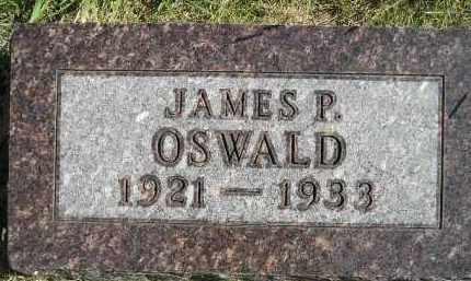 OSWALD, JAMES P. - Hanson County, South Dakota | JAMES P. OSWALD - South Dakota Gravestone Photos