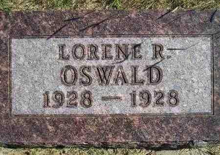 OSWALD, LORENE R. - Hanson County, South Dakota | LORENE R. OSWALD - South Dakota Gravestone Photos