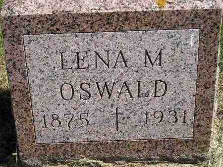 OSWALD, LENA M. - Hanson County, South Dakota | LENA M. OSWALD - South Dakota Gravestone Photos