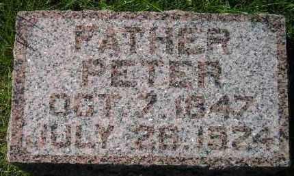 OSWALD, PETER - Hanson County, South Dakota | PETER OSWALD - South Dakota Gravestone Photos