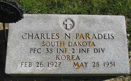 PARADEIS, CHARLES N. - Hanson County, South Dakota | CHARLES N. PARADEIS - South Dakota Gravestone Photos