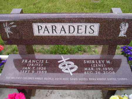 PARADEIS, SHIRLEY M. - Hanson County, South Dakota | SHIRLEY M. PARADEIS - South Dakota Gravestone Photos