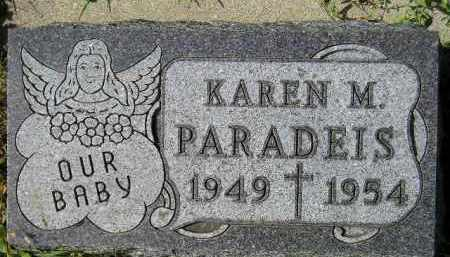 PARADEIS, KAREN M. - Hanson County, South Dakota | KAREN M. PARADEIS - South Dakota Gravestone Photos