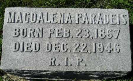 PARADEIS, MAGDALENA - Hanson County, South Dakota | MAGDALENA PARADEIS - South Dakota Gravestone Photos