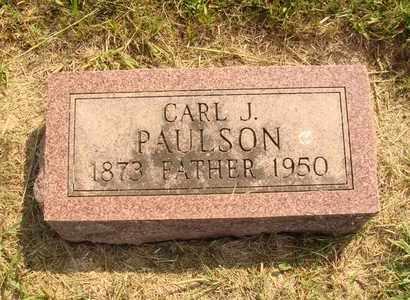 PAULSON, CARL J. - Hanson County, South Dakota   CARL J. PAULSON - South Dakota Gravestone Photos