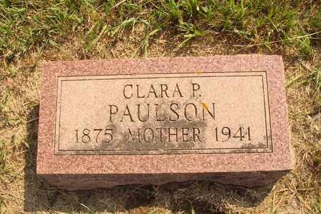 PAULSON, CLARA P. - Hanson County, South Dakota | CLARA P. PAULSON - South Dakota Gravestone Photos