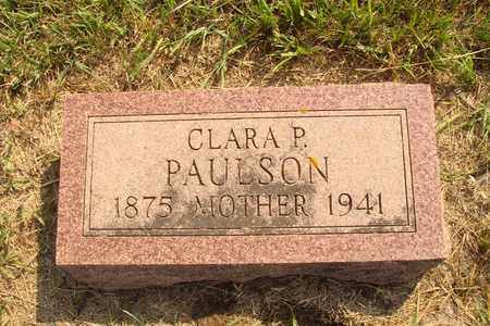 PAULSON, CLARA P. - Hanson County, South Dakota | CLARA P. PAULSON - South Dakota Gravestone Photos
