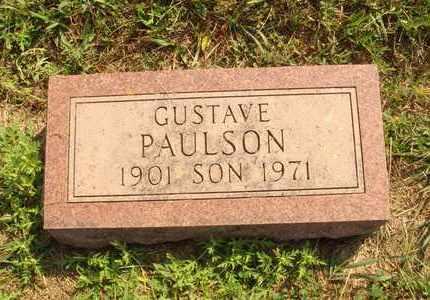 PAULSON, GUSTAVE - Hanson County, South Dakota | GUSTAVE PAULSON - South Dakota Gravestone Photos