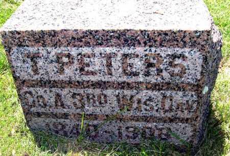 PETERS, TIM - Hanson County, South Dakota | TIM PETERS - South Dakota Gravestone Photos