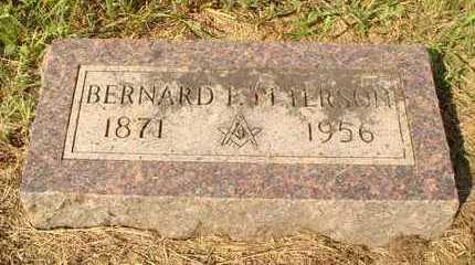 PETERSON, BERNARD P. - Hanson County, South Dakota   BERNARD P. PETERSON - South Dakota Gravestone Photos