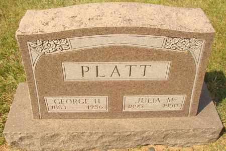 PLATT, JULIA M. - Hanson County, South Dakota | JULIA M. PLATT - South Dakota Gravestone Photos
