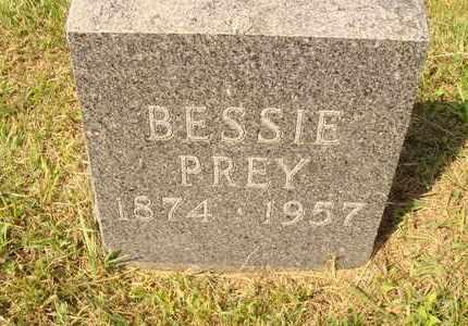 PREY, BESSIE - Hanson County, South Dakota   BESSIE PREY - South Dakota Gravestone Photos