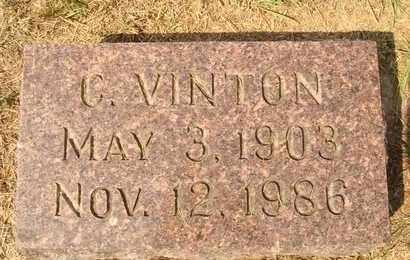 RADABAUGH, C. VINTON - Hanson County, South Dakota | C. VINTON RADABAUGH - South Dakota Gravestone Photos