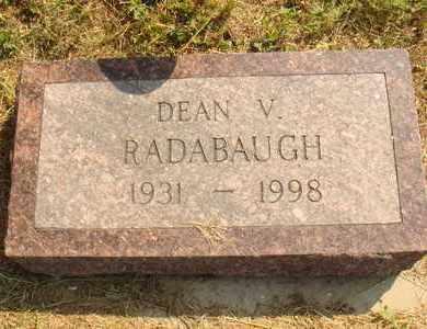 RADABAUGH, DEAN V. - Hanson County, South Dakota | DEAN V. RADABAUGH - South Dakota Gravestone Photos