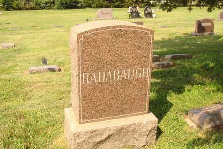 RADABAUGH, FAMILY MARKER - Hanson County, South Dakota | FAMILY MARKER RADABAUGH - South Dakota Gravestone Photos