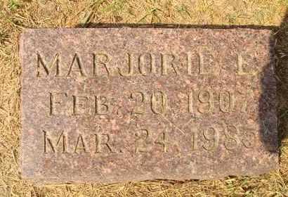 RADABAUGH, MAJORIE E. - Hanson County, South Dakota   MAJORIE E. RADABAUGH - South Dakota Gravestone Photos