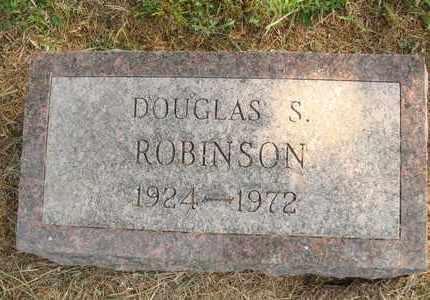 ROBINSON, DOUGLAS S. - Hanson County, South Dakota | DOUGLAS S. ROBINSON - South Dakota Gravestone Photos