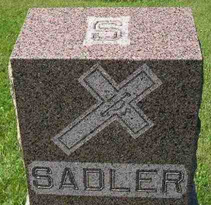 SADLER, FAMILY STONE - Hanson County, South Dakota   FAMILY STONE SADLER - South Dakota Gravestone Photos