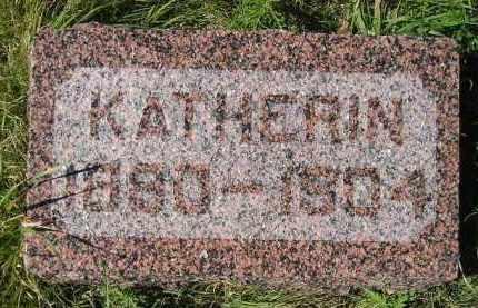 SADLER, KATHERIN - Hanson County, South Dakota | KATHERIN SADLER - South Dakota Gravestone Photos