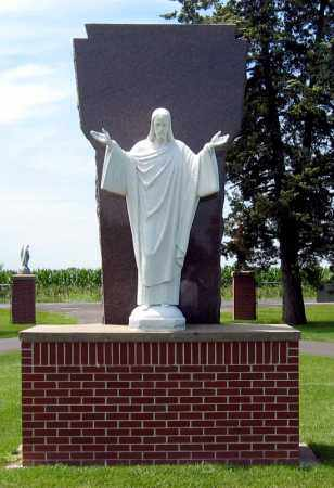 *SAINT MARYS, STATUE - 2 - Hanson County, South Dakota | STATUE - 2 *SAINT MARYS - South Dakota Gravestone Photos