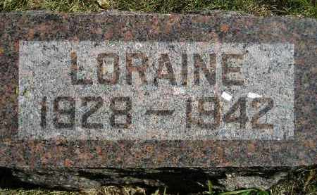 SCHERER, LORAINE - Hanson County, South Dakota | LORAINE SCHERER - South Dakota Gravestone Photos