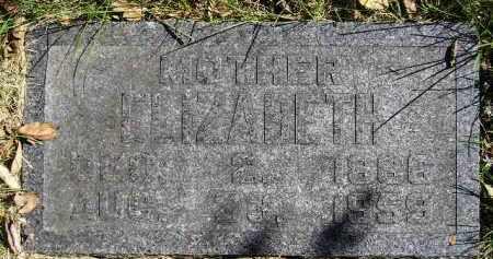 SCHEUREN, ELIZABETH - Hanson County, South Dakota | ELIZABETH SCHEUREN - South Dakota Gravestone Photos