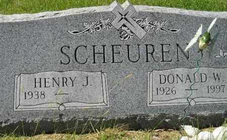 SCHEUREN, HENRY J. - Hanson County, South Dakota | HENRY J. SCHEUREN - South Dakota Gravestone Photos