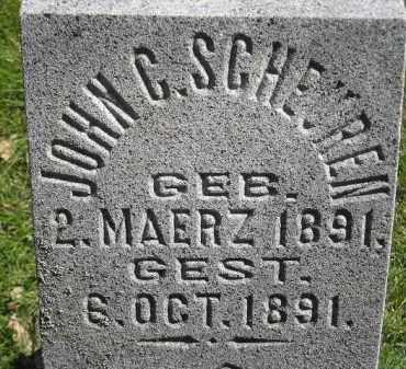 SCHEUREN, JOHN C. - Hanson County, South Dakota | JOHN C. SCHEUREN - South Dakota Gravestone Photos