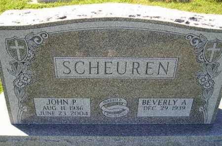 SCHEUREN, JOHN P. - Hanson County, South Dakota | JOHN P. SCHEUREN - South Dakota Gravestone Photos