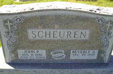 SCHEUREN, JOHN P. - Hanson County, South Dakota | JOHN P. SCHEUREN - South Dakota Gravestone Photos