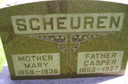 SCHEUREN, MARY - Hanson County, South Dakota | MARY SCHEUREN - South Dakota Gravestone Photos
