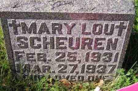 SCHEUREN, MARY LOU - Hanson County, South Dakota   MARY LOU SCHEUREN - South Dakota Gravestone Photos
