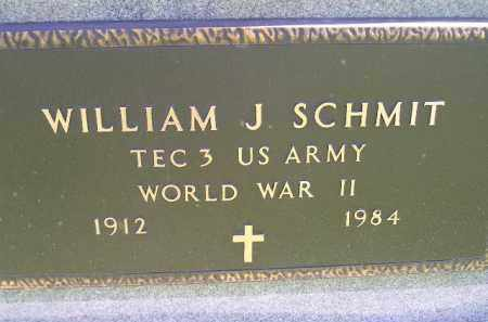 SCHMIT, WILLIAM J. (WW II) - Hanson County, South Dakota | WILLIAM J. (WW II) SCHMIT - South Dakota Gravestone Photos