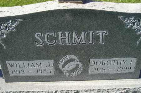 SCHMIT, WILLIAM J. - Hanson County, South Dakota | WILLIAM J. SCHMIT - South Dakota Gravestone Photos
