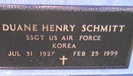 SCHMITT, DUANE HENRY (MILITARY) - Hanson County, South Dakota | DUANE HENRY (MILITARY) SCHMITT - South Dakota Gravestone Photos