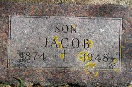 SCHMITT, JACOB - Hanson County, South Dakota | JACOB SCHMITT - South Dakota Gravestone Photos