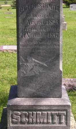 SCHMITT, PETER - Hanson County, South Dakota   PETER SCHMITT - South Dakota Gravestone Photos