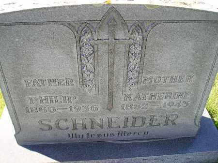 SCHNEIDER, PHILIP - Hanson County, South Dakota | PHILIP SCHNEIDER - South Dakota Gravestone Photos