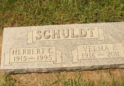 SCHULDT, HERBERT C. - Hanson County, South Dakota | HERBERT C. SCHULDT - South Dakota Gravestone Photos