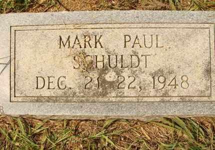 SCHULDT, MARK PAUL - Hanson County, South Dakota | MARK PAUL SCHULDT - South Dakota Gravestone Photos