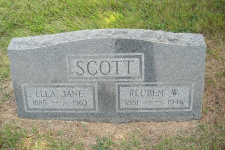 SCOTT, RUEBEN W. - Hanson County, South Dakota | RUEBEN W. SCOTT - South Dakota Gravestone Photos