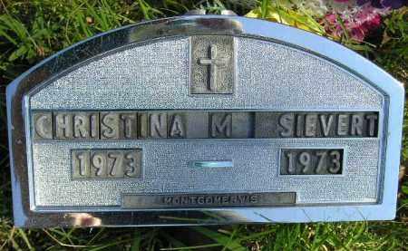 SIEVERT, CHRISTINA M. - Hanson County, South Dakota | CHRISTINA M. SIEVERT - South Dakota Gravestone Photos