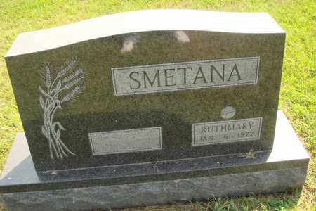 SMETANA, RUTH MARY - Hanson County, South Dakota | RUTH MARY SMETANA - South Dakota Gravestone Photos