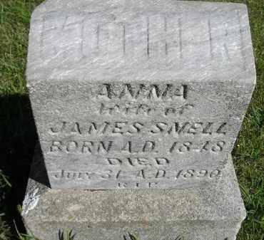 SNELL, ANNA - Hanson County, South Dakota | ANNA SNELL - South Dakota Gravestone Photos
