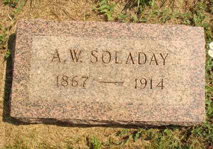 SOLADAY, A.W. - Hanson County, South Dakota | A.W. SOLADAY - South Dakota Gravestone Photos