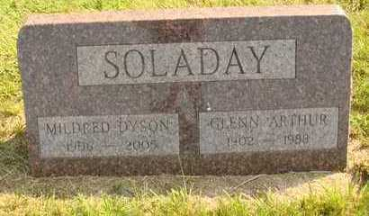 DYSON SOLADAY, MILDRED - Hanson County, South Dakota | MILDRED DYSON SOLADAY - South Dakota Gravestone Photos