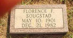 SOUGSTAD, FLORENCE F. - Hanson County, South Dakota | FLORENCE F. SOUGSTAD - South Dakota Gravestone Photos